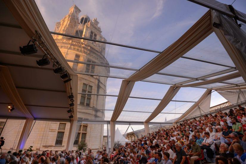 Festival de Chambord dans la cour du château