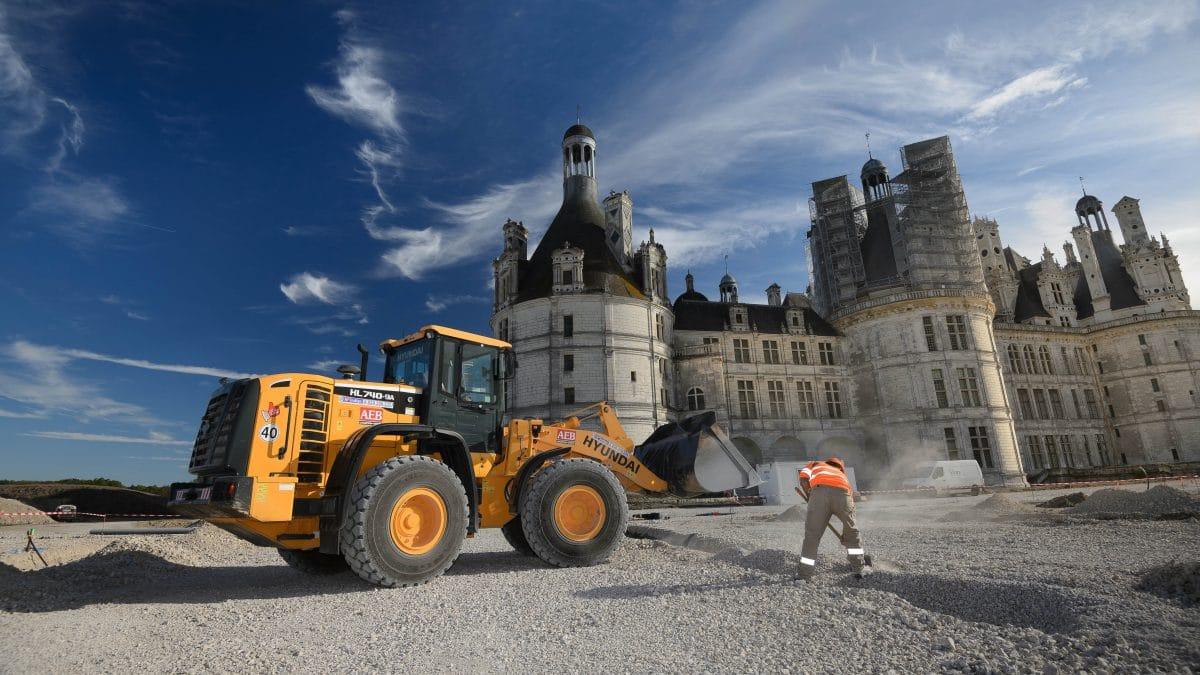 Les Jardins A La Francaise Chateau De Chambord